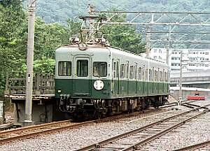 南海みどりの電車