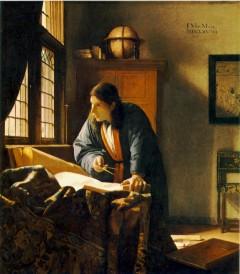 天文学者と地理学者